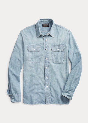 Ralph Lauren Indigo Chambray Workshirt