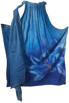 Escada Blue Top for Women