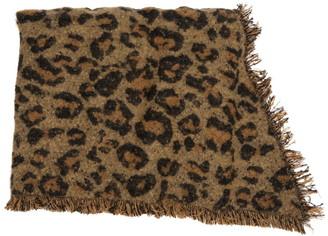 Modena Animal Print Bias Cut Blanket Scarf
