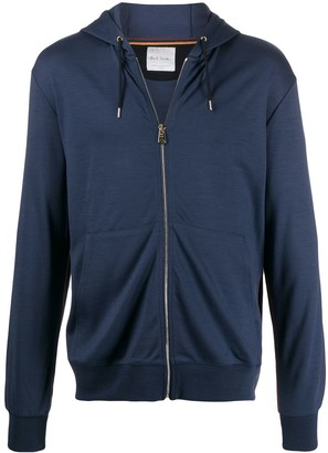 Paul Smith Zip-Up Wool Hoodie