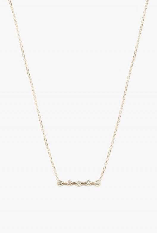 Ariel Gordon Diamond Horizon Necklace