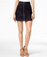 Buffalo David Bitton Zip-Front Denim Skirt