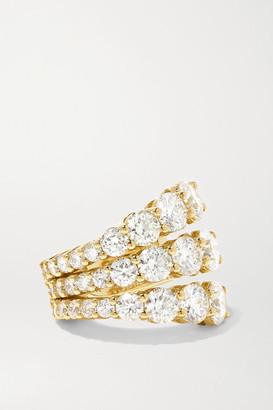 Melissa Kaye Aria 18-karat Gold Diamond Ear Cuff