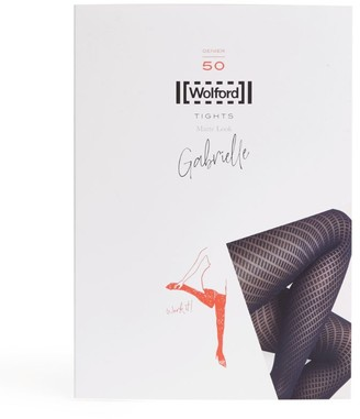Wolford Gabrielle Patterned 50 Tights