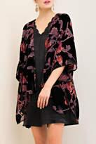 Entro Back To Floral Kimono