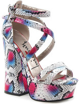 Luichiny Women's Tall Order Platform Sandal