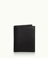 GiGi New York Card Case with ID Holder Black Vachetta Leather