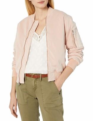 Hudson Jeans Women's Gene Puffy Bomber Jacket