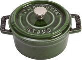 Staub .25 Qt Mini Round Cocotte, Green