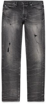 John Elliott The Cast 2 Skinny-Fit Distressed Denim Jeans