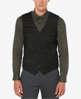 Perry Ellis Men's Big & Tall Travel Luxe Performance Striped Vest