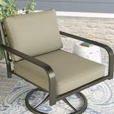 Darby Home Co Double Piped Lounge Chair Cushion