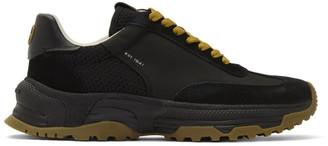Coach 1941 Black C155 Panelled Runner Sneakers
