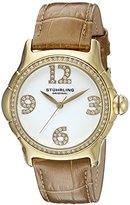 Stuhrling Original Women's 592.04 Vogue Analog Display Quartz Beige Watch