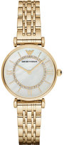Emporio Armani AR1907 gold-plated stainless steel watch