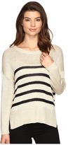 Brigitte Bailey Darcia Striped Long Sleeve Sweater