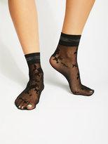 Free People Mariposa Floral Sport Anklet