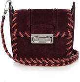 Lanvin Jiji mini suede cross-body bag