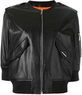 Barbara Bui leather bomber jacket