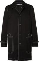 Comme Des Garçons Shirt - Contrast-stitched Cotton-drill Jacket