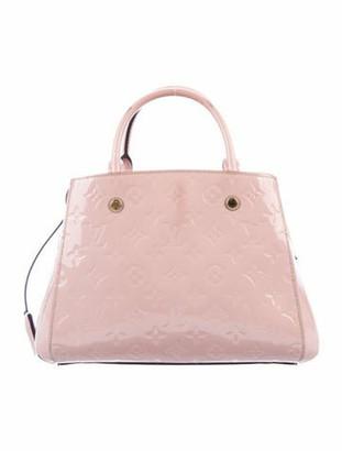 Louis Vuitton Vernis Montaigne BB Pink