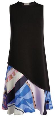 Emilio Pucci Wally Print Mini Shift Dress