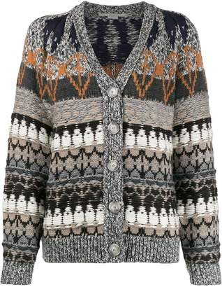 Stella McCartney knitted patterned cardigan