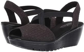Skechers Parallel - Jellyroll (Black) Women's Shoes