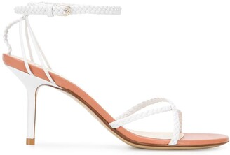 Francesco Russo Braided Straps 80mm Sandals