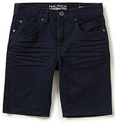 Nautica Big Boys 8-20 Flat-Front 5-Pocket Shorts