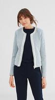 Esprit Fitted tweed jacket