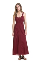 Country Road Strappy Panel Midi Dress