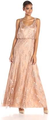 Donna Morgan Women's Blouson Lace Gown