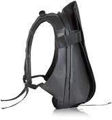 Côte&Ciel Isar Black Coated Canvas Medium Backpack
