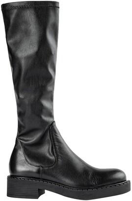 Tony Bianco Cove Black Como Venezia Calf Boots