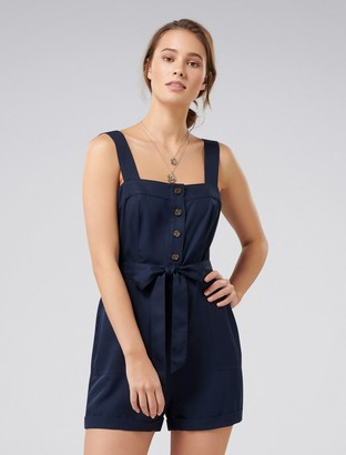 Ever New Rosa Button-Down Romper