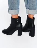 Asos ELAN Heeled Ankle Boots