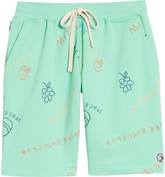 Billionaire Boys Club Jott Embroidered Knit Shorts