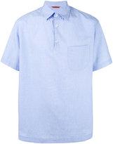 Barena flared polo shirt - men - Cotton/Spandex/Elastane - 50