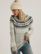 Lucky Brand Bold Fairisle Sweater