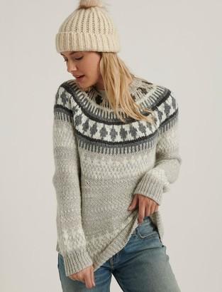 Lucky Brand Bold Fairisle Sweater