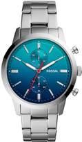 Fossil Men's FS5434 Townsman Analog Display Analog Quartz Silver Watch