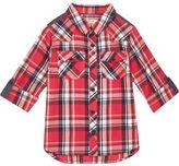 River Island Mini boys red check shirt