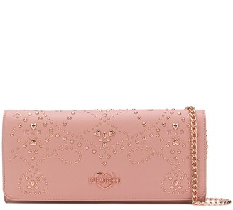 Love Moschino Embellished Clutch Bag