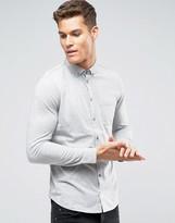 Burton Menswear Long Sleeve Jersey Polo Shirt