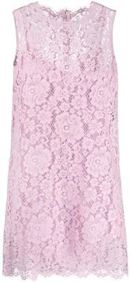 Dolce & Gabbana Cordonetto Lace Shift Dress