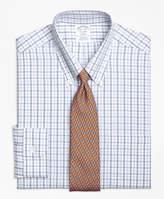 Brooks Brothers Non-Iron Madison Fit Alternating Check Dress Shirt