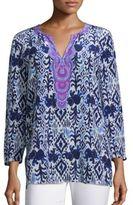 Lilly Pulitzer Renato Silk Printed Tunic