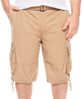 DAMANTE D'Amante Enzyme Wash Cargo Shorts - Big & Tall