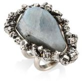 Alexander McQueen Pyrite Ring
